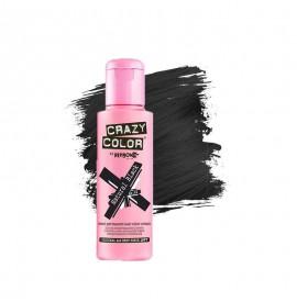 Nr. 32. - Natural Black - Crazy Color - Vopsea de păr semipermanentă - 100 ml