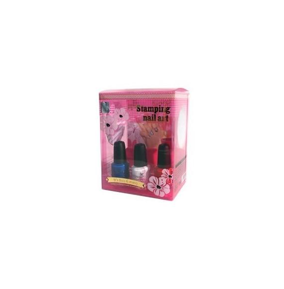 Stampile pentru unghii - Stamping nail art - Konad