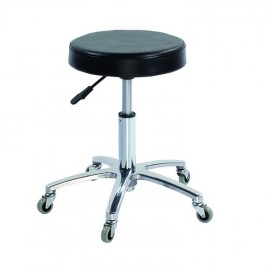 Salonshop - scaun ucenic pentru cosmetica/coafura - negru