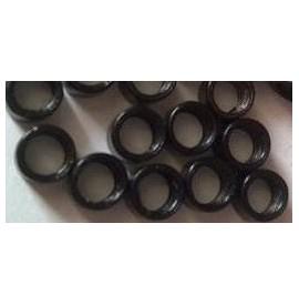 Mikro inel simplu - Negru - 4.5 mm - 100 buc