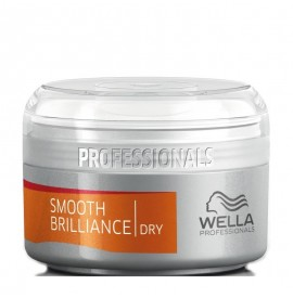 Wella smooth brilliance - crema pt luciu 75ml
