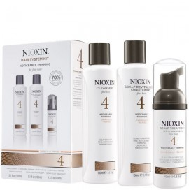 Nioxin - Hair System Kit - Tratament anticadere - Set nr. 4
