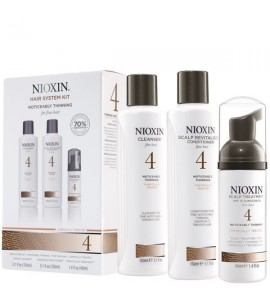 Nioxin - Hair System Kit - Tratament anticadere - Set nr. 4