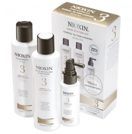 Nioxin - Hair System Kit - Tratament anticadere - Set nr. 3