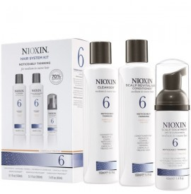 Nioxin - Hair System Kit - Tratament anticadere - Set nr. 6
