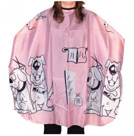 Pelerina de tuns pentru copii - roz - Eurostil