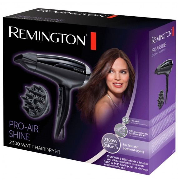 Remington - Pro Air Shine 2300 Watt - Uscator de par