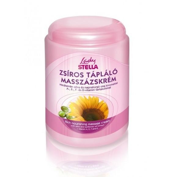 Cremă de masaj grasă nutritivă - 1000 ml