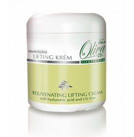 Lady stella - oliva - cremă de față lifting și anti-ageing cu acid hyaluronic și filtur uv.-250ml