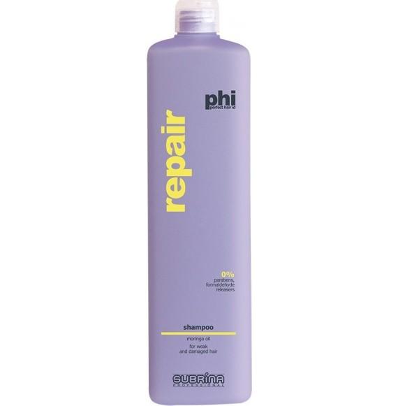 Sampon pentru par degradat - Subrina PHI Repair Shampoo - 1000 ml