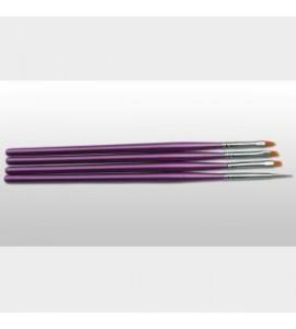 Set pensule - Moyra - 4 buc.-