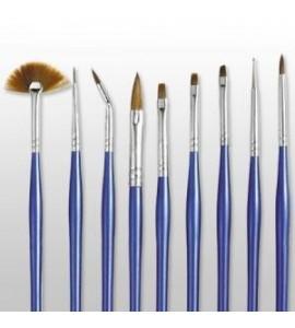 Set pensule - Moyra - 9 buc.-