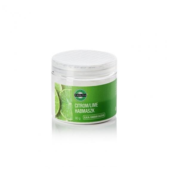 Yamuna -Mască Lemon-Lime -tonifiere si stimulare- 80 gr