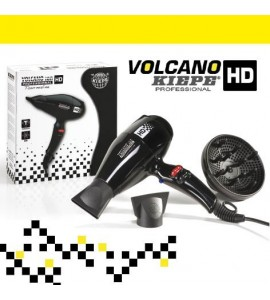 Uscator de par hd volcano negru - kiepe - hd8307 - 8309 wh