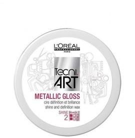 Pasta Modelatoare L'Oreal Professionnel Metallic Gloss, 50 ml