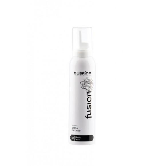 Spumă nuantatoară color - Negru 2/0 - 125 ml – Subrina Professional