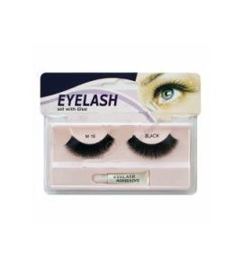 Gene false cu adeziv - M16 - Eyelash set with glue
