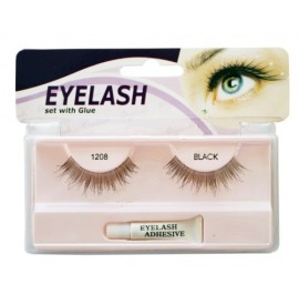 Gene false cu adeziv - 1208- Eyelash se with glue