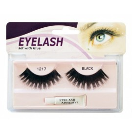 Gene false cu adeziv - M1217 - Eyelash set with glue