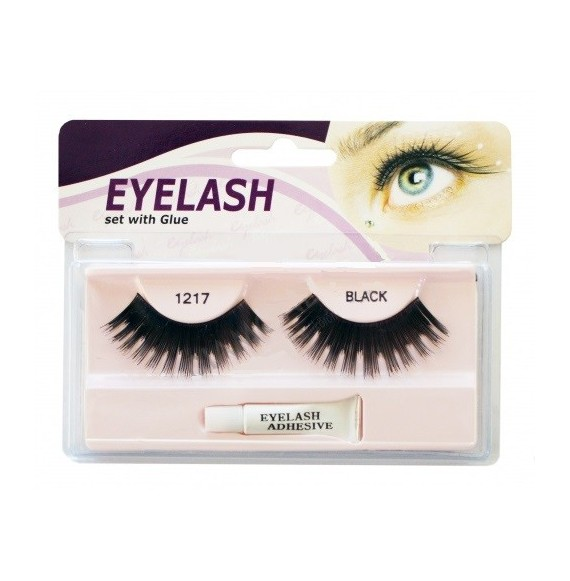 Gene false cu adeziv - M1217 - Eyelash set with glue