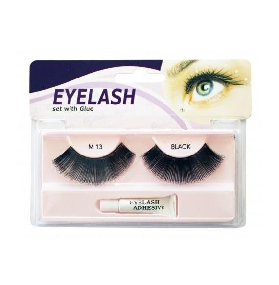 Gene false cu adeziv -M13- Eyelash set with glue