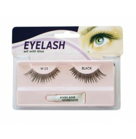 Gene false cu adeziv - M33 -Eyelash set with glue