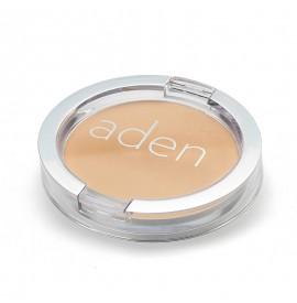 Pudră compactă pentru fată - Nr. 02 - Beige - 15 gr -  Aden Cosmetics