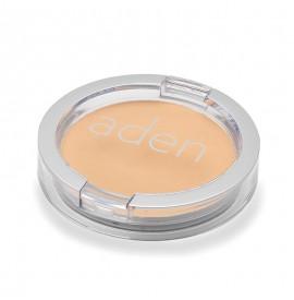 Pudră compactă pentru fată - nr. 03 - soft honey - 15 gr -  aden cosmetics
