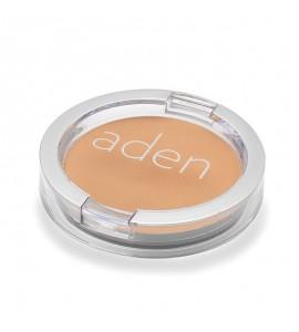 Pudră compactă pentru fată - Nr. 05 - Olive Brown -  15 gr -  Aden Cosmetics