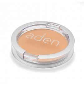 Pudră compactă pentru fată - nr. 06 -nougat -  15 gr -  aden cosmetics