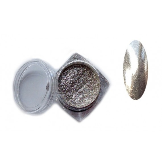 CHROME MIRROR - ORNAMENT PRAF PENTRU UNGHII - 339001
