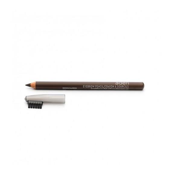 Creion pentru sprancene - maro - Aden Cosmetics