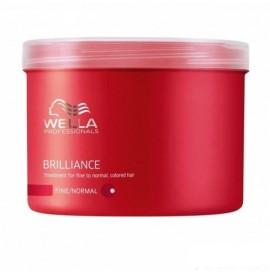 Wella Brilliance - Masca pentru par vopsit cu structura fina/normala - 500 ml