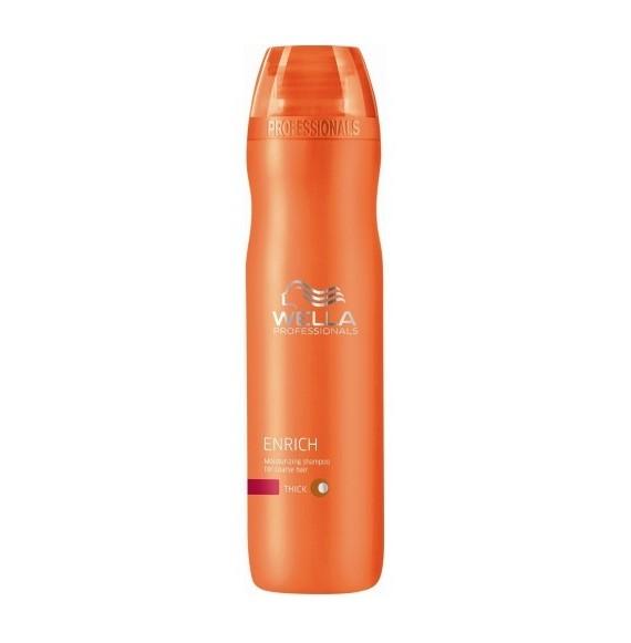 Wella Enrich - Sampon hidratant pentru par cu structura groasa - 250 ml