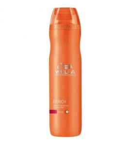 Wella Enrich - Sampon hidratant pentru par cu structura puternica - 250 ml