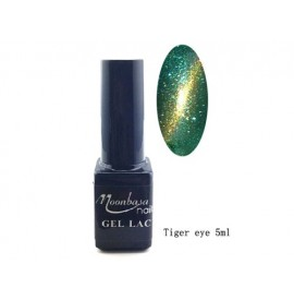 Moonbasa - Gel lac - Tiger eye - Nr. 808 - 5 ml