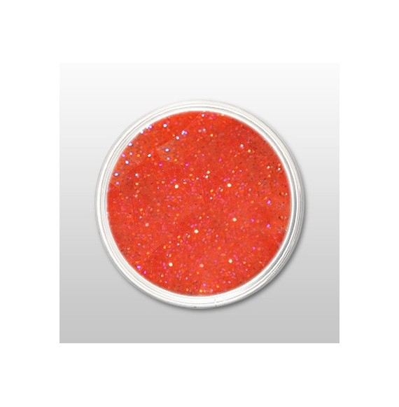 Moyra - Praf de portelan color - Glitter Orange - Nr. 104 - 3,5 gr