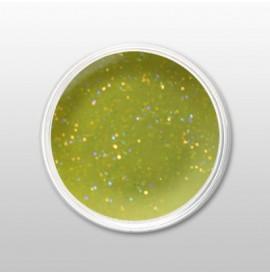 Moyra - Praf de portelan color - Glitter Green - Nr. 112 - 3,5 gr