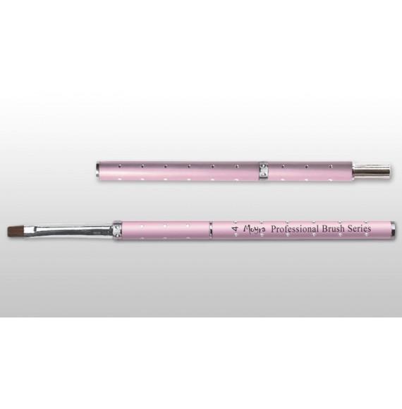 Moyra - Pensula bijuterie pentru gel - Dreapta - Nr. 4