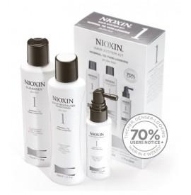 Nioxin - Hair System Kit - Tratament anticadere - Set nr. 1