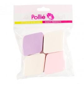 Eurostil - Pollie - Set burete pentru fond de ten - 4buc - 02672