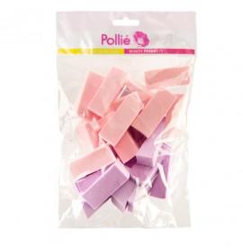 Eurostil - Pollie - Set burete pentru fond de ten - 24buc - 02671