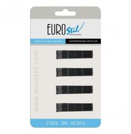 Eurostil - Set agrafe negre - 50MM - 24buc - 01609/50