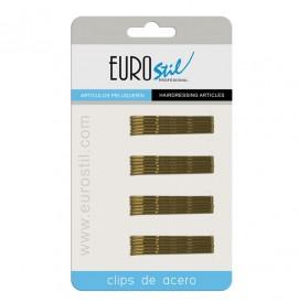 Eurostil - set agrafe maro - 50mm - 24buc - 01609