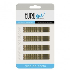 Eurostil - set agrafe maro - 70mm - 24buc - 01611