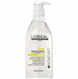 L'oreal Professionnel - Sampon pentru par gras - Pure Resource - 500ml