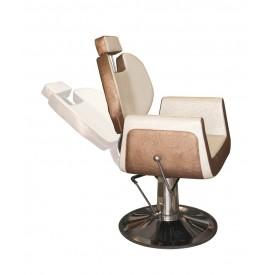 Stella - Scaun pentru frizerie - crem/auriu - SX-926