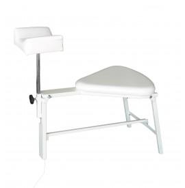 Scaun pentru pedichiura cu suport