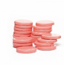 Ceara pentru epilare traditionala - pink - la punga 1kg - roz