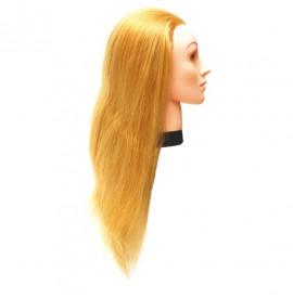 Eurostil - cap de papusa din par sintetic - 45-50 cm - 02544